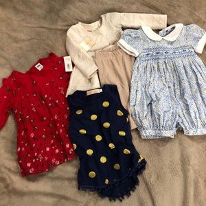 Baby Girl Outfit Bundle